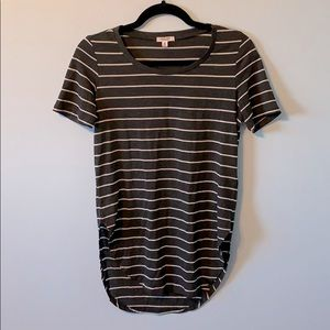 2 for 15! Striped Tunic T-Shirt